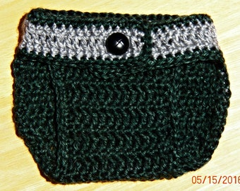 Slytherin Diaper Cover