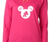 Disney Thirteen Point One 2016 Run Disney Hoodie Disney Running Shirt Disney Half Marathon Shirt Running Hoodie Mickey Running Hoodie