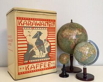 Large Vintage German Coffee Tin
