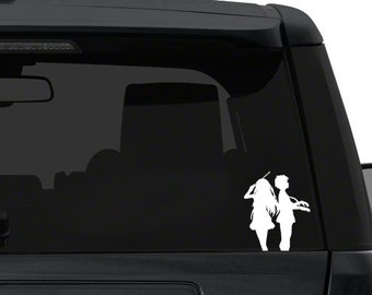 shigatsu kimi no uso- Anime Decal for Cars, Windows, Wall, Macbooks, Laptop, iPad, iPhone, Nintendo 3ds, XBox, Playstation etc