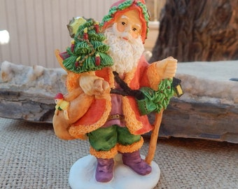 Yuleman from Denmark Old World Santa  ~  Old World Santa Figurine  ~  Old World Santa 1995  ~  Bronson Collectibles Old World Santa