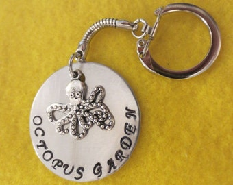 "Beatles ""Octopus Garden"" keychain"