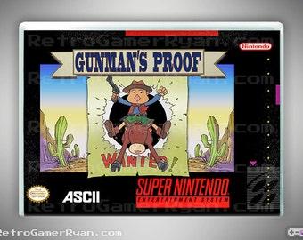 Gunman's Proof (Super NES Reproduction)