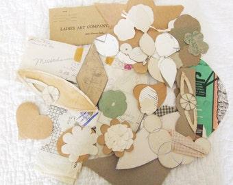 Lots of fun vintage quilting templates 1060s paper ephemera