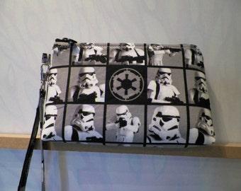 Star Wars Storm Trooper Wristlet Purse