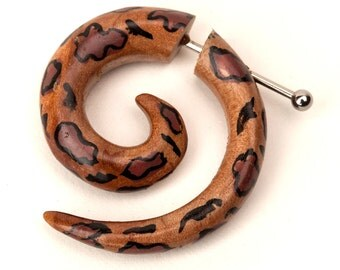 Applewood Spiral - leopard (J-AW-003)