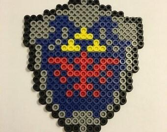 Zelda Shield Perler