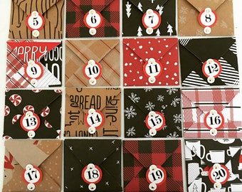 advent calendar | activity advent calender | Christmas countdown | mini envelopes | advent | Christmas | Christmas fun | Family fun |