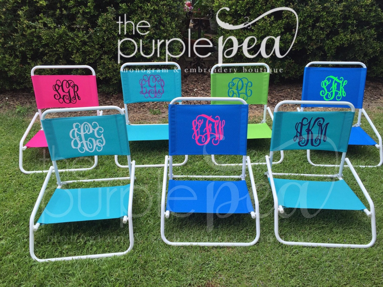 Monogrammed Beach Chair Sand Chair Beach Chair