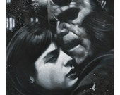 """Limited Run (20) Signed & Numbered Giclee Print by James Hance - """"Can't Smile Without You"""" (Hellboy / Ron Perlman / Selma Blair)"""