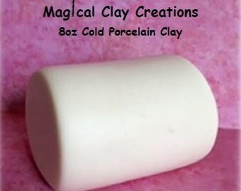 Cold Porcelain Clay 8 oz. White