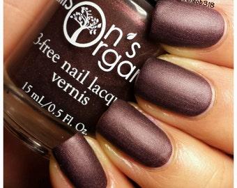 Matte Nail Polish - Maroon Nail Polish - Vegan Nail Polish - All is Calm - Nails - Nail Art - Nail Lacquer - Gifts for Women - Gift Under 15