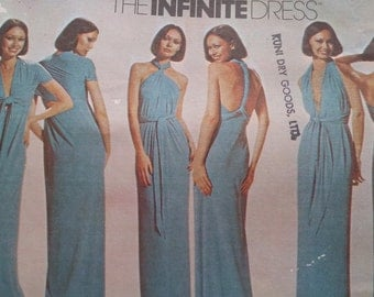 UNCUT and FF Pattern Piece Vintage McCalls Sewing Pattern One   Size