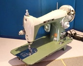 Restored by Stagecoach Road, Vintage New Home Paragon SKY Sewing Machine w/Guaranty and Free Shipping