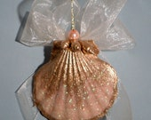 SALE!!  Pearl and Shell Ornaments