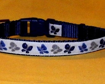 Small Blue Butterfly collar