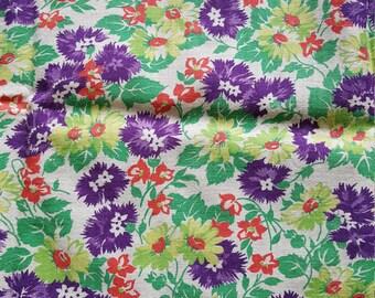 Vintage FULL Feed Sack Feedsack Fabric Material BEAUTIFUL