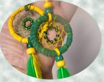 Oregon Duck  Dreamcatcher Key Rings