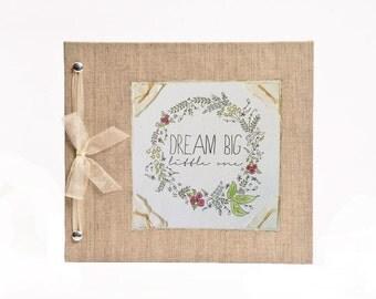 Baby Book - Dream Big Little One Baby Memory Book - Baby Album - Hugs and Kisses XO Baby Memory Book