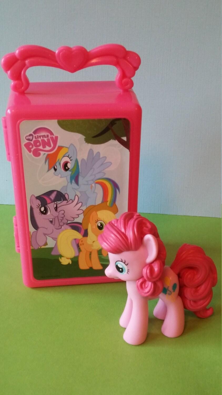 PINKIE PIE MLP My Little Pony Cake Topper Birthday fim goody