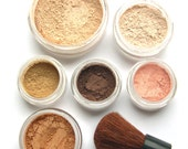 Makeup, minerals, eye makeup, foundation, skin care, cosmetics, base, eyeshadow, makeup kit - 8pc SUMMER GLOW mineral make-up