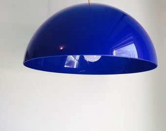 Colbalt Blue Retro Lucite Light