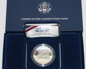 1987-S Constitution Bicentennial Commemorative Silver Dollar PROOF Coin
