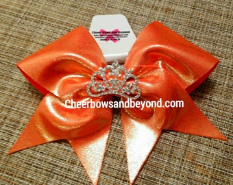 Cheer Bow-Princess Crown Bow