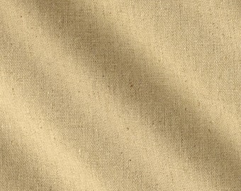 "SOLD OUT Linen Blend Fabric by Yard Natural 55""W"