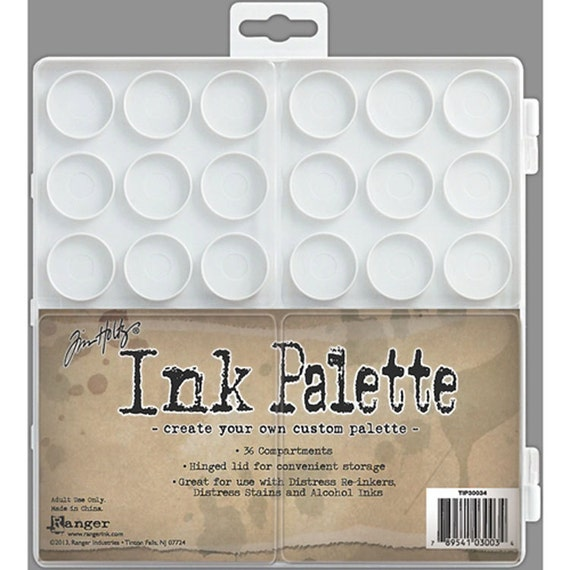 Ink Palette perfect for creating your own custom alcohol inks and colors.