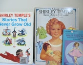 Vintage Shirley Temple Stories that never grow old  paper dolls and books collection
