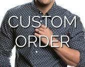 Custom Listing For Erica