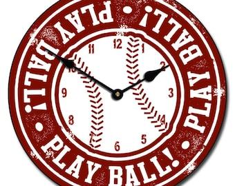 Baseball Wall Clock 2