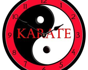 Karate Wall Clock