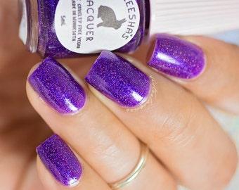 Purple Holo Nail Polish - Grape Escape - The Gradient Collection