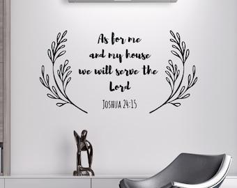 Scripture Decals for Walls - Scripture Decal for Wall - Vinyl Scripture Decals