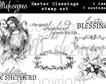 Easter Blessings Digital Stamp Set