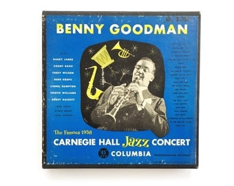 Benny Goodman | 1938 Carnegie Hall Jazz Concert • 12 record box set • 45 rpm • Columbia