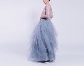 Multi-layered tulle skirt, multilayer, adult tulle skirt, layered maxi skirt, high quality skirt, layered tulle skirt,  adult tutu