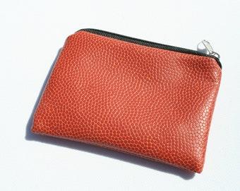 Basketball coin purse