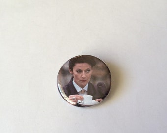 Doctor Who Missy The Master Timelord Pin/Pinback Button