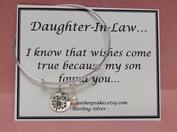 Future Mother In Law Gifts: Daughter In Law Gift Idea Wishes Come True By