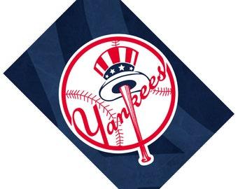 Passport Cover Case Holder -- New York Yankees 2