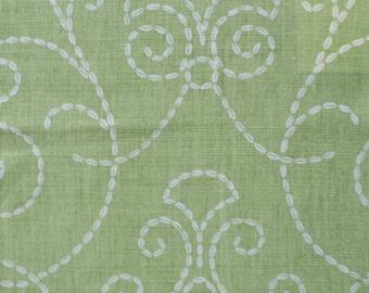 "Raoul Textiles ""Vizcaya"" Hand Printed Linen Drapery Panels'"