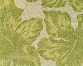 "Raoul Textiles ""Jamaica"" Hand Printed Linen Drapery Panels"