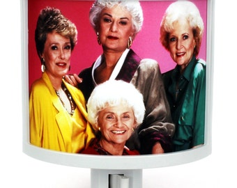 Golden Girls Blanche Dorothy Rose Sophia night light nursery bathroom hallway bedroom TAKE IT with