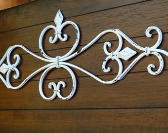 White Metal Art Decor Gorgeous Fork And Spoon Wall Art  Antique White Or Pick Color  Large Inspiration Design