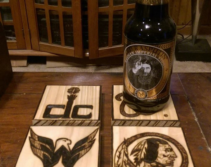 father gift ,husband gift,wood coasters,mens gift ideas,Vikings,sports coaster,sports plaques,sports lovers gift,men