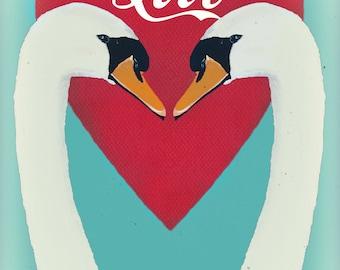 Swans in Love