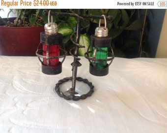 25%  Sale Event Nautical Themed Salt and Pepper Shakers  Lanterns and Boat Anchor
